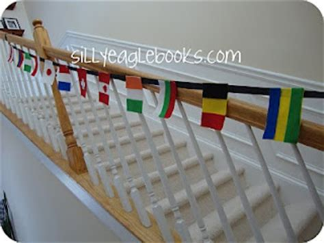 flags of the world garland 10 fun summer olympic activities housing a forest