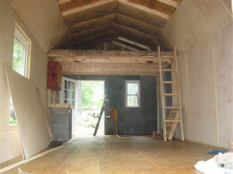 finishing pics  derksen shed barn small cabin forum