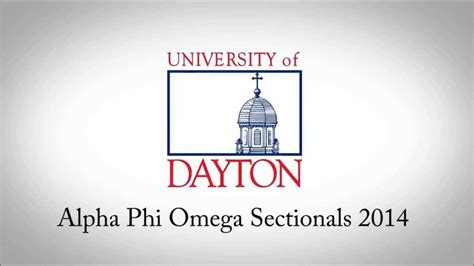 Alpha Phi Omega Sectionals 2014 Welcome To Dayton Youtube