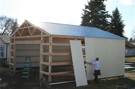 garages and barns steel buildings steel structures america