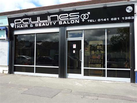 hairdresser prices glasgow paulines hair and beauty salon clarkston 6 8 cathkin dr