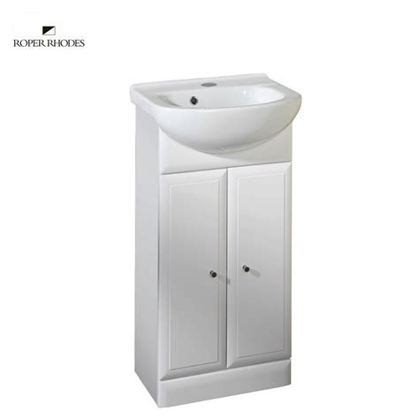 Slimline Bathroom Furniture Units Roper Valencia 415mm Slimline Unit With Basin Ukbathrooms