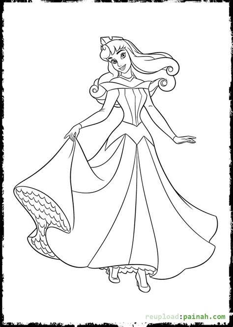 disney princess coloring pages sleeping beauty all characters disney princesses coloring pages