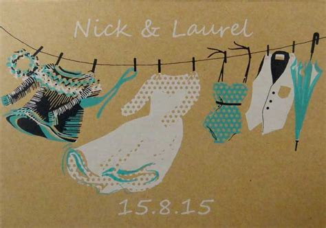 Getting Wedding Invitations Printed by Screen Printed Wedding Invitations