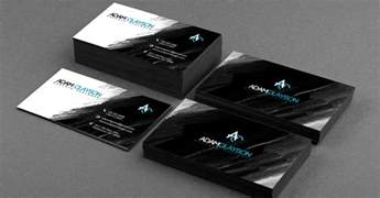 in black business card 25 stunning black business cards for print design