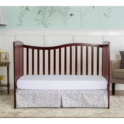 chelsea convertible crib on me chelsea 5 in 1 convertible crib in cherry 680 c