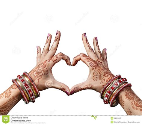 india love henna tattoo indian stock photo image 54026093