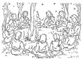 30 camping coloring pages coloringstar
