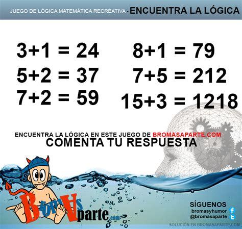 imagenes matematicas recreativas encontrar l 243 gica juego de l 243 gica y matem 225 ticas recreativas