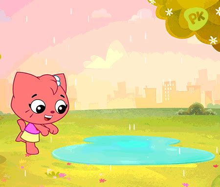 puddles gif by playkids find & share on giphy