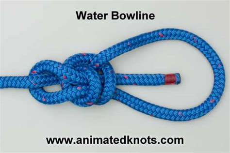water knot how to tie the water knot rescue knots water bowline knot how to tie a water bowline knot knots
