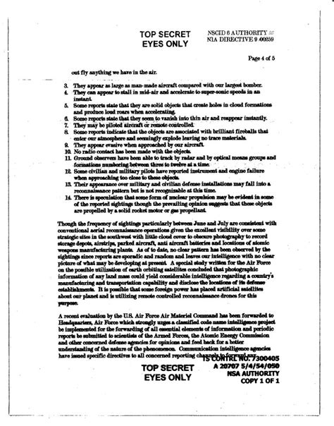 Intelligence Briefing Briefformat New Majestic 12 Documents