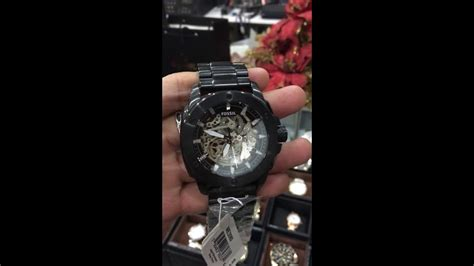 Fossil Machine Automatic Me3080 fossil modern machine automatic stainless steel me3080