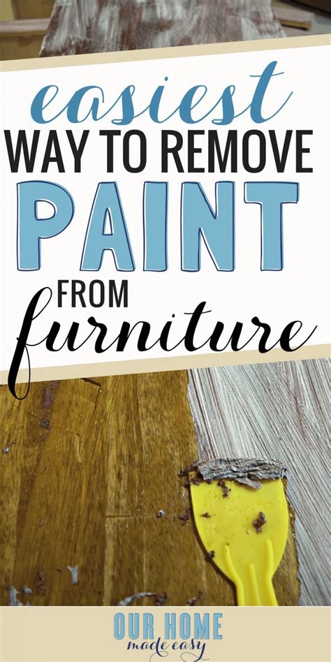 How To Remove Paint From Upholstery by How To Easily Remove Paint Varnish From Furniture