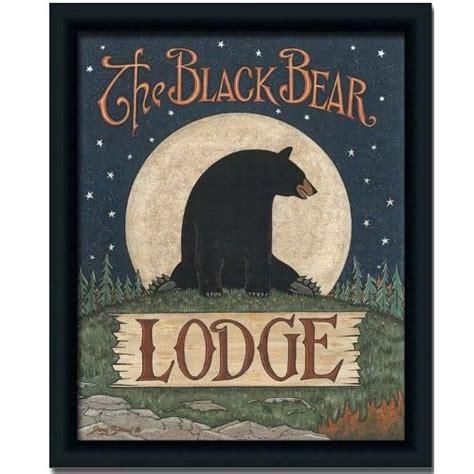 black bear cabin l home decor pinterest amazon com black bear lodge cabin decor for the cabin
