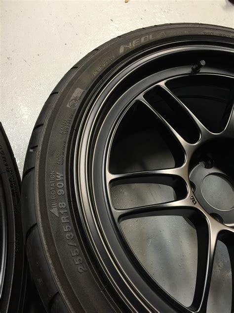 Enkei Rpf1 Black 18x9 5 15 fs northeast black enkei rpf1 s 18x9 5 with ado8r tires