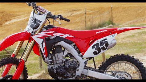motocross action magazine first ride 2017 honda crf 450 motocross action magazine