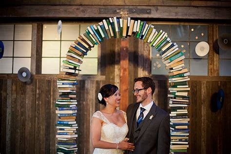 Wedding Ceremony Book by Book Wedding Arch Weddingbee