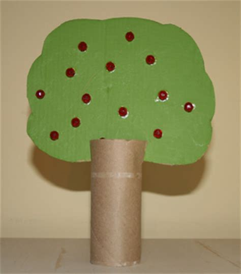 tree crafts for children apple tree craft all network