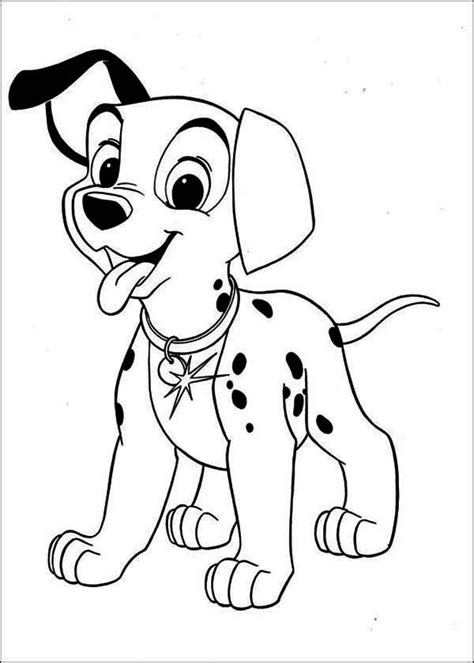 coloring pictures of dalmatian dogs dalmatian outline for coloring coloring pages