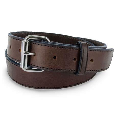 leather gun belt 1 5 inch belt hanks belts