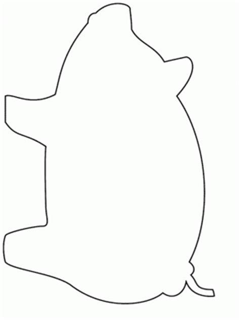 simple pig coloring page simple shapes page 2 donut simple shapes coloring pages