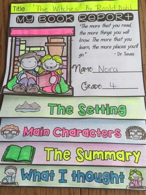 flip book report use this editable book report flipbook organizer to