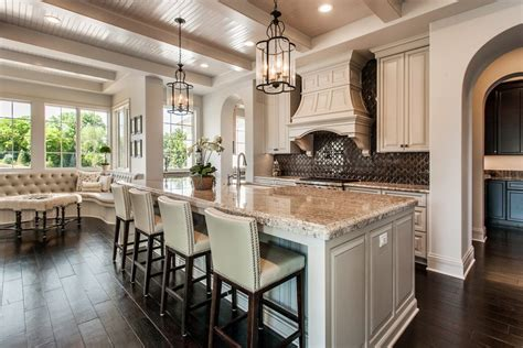 custom  homes chef inspired modern kitchen design