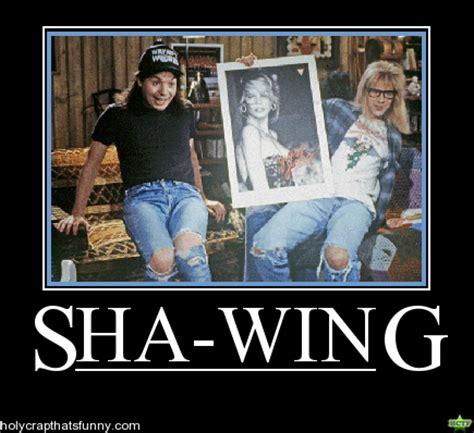 Shwing Meme - waynes world