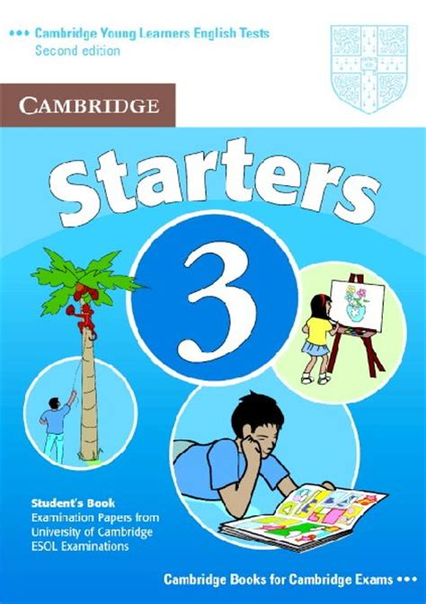 starter books cambridge learners tests starters 3
