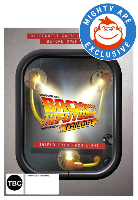 back to the future flux capacitor box set back to the future flux capacitor box set mighty ape exclusive images at mighty ape nz