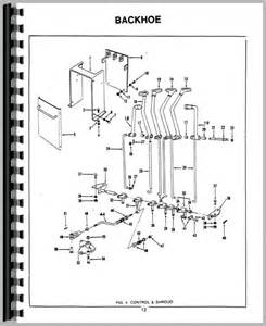 ford 750 backhoe attachment parts manual