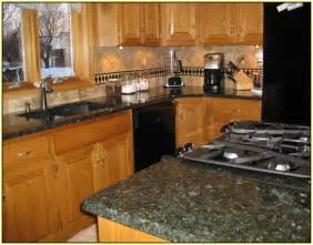 Superb Countertops For White Kitchen Cabinets #6: Verde-butterfly-granite-countertops.jpg