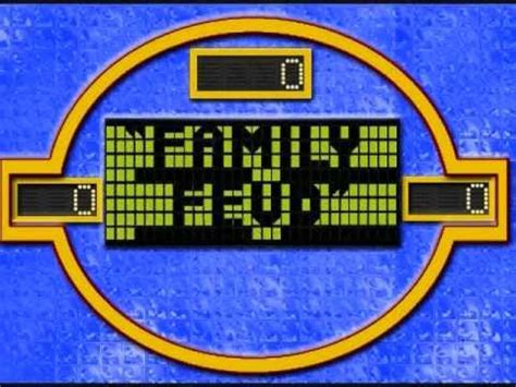 theme to family feud family feud 94 main theme edited w scrolling fast money