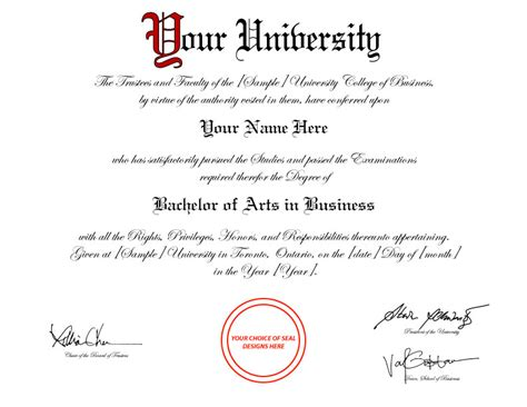 bachelor degree template diploma template d31 york replica