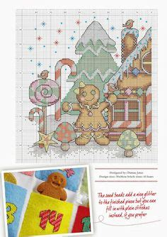 Kristik Cross Stitch Pemandangan Musim Dingin Winter 1000 images about gingerbread cross stitch on gingerbread gingerbread and