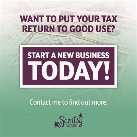 use your tax return to start a business at home lynne biniker independent scentsy consultant what are