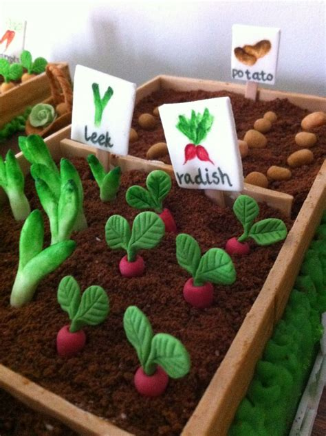 Vegetable Garden Cake Vegetable Garden Cake Ideas Photograph Vegetable Garden Ca