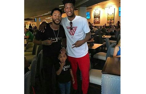 jimmy butler  derrick rose reunite  instagram complex