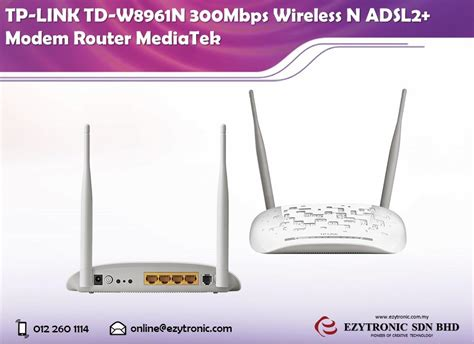 Modem Adsl Wireless N Router Tp Link Td W8951nd Tp Link Td W8961n 300mbps Wireless End 2 14 2017 10 15 Am