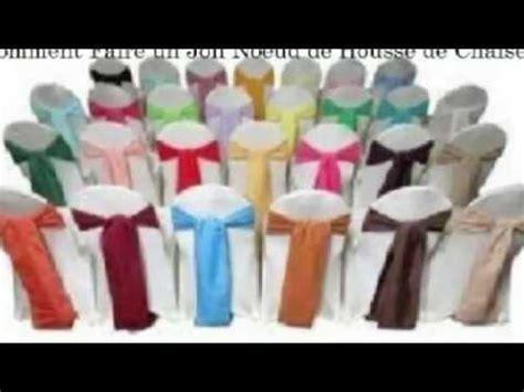 faire ses housses de chaises mariage comment faire un noeud sur une housse de chaise www drhousse