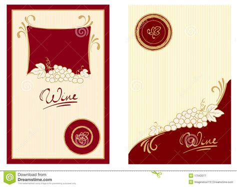 template wine label template ideas wine label template