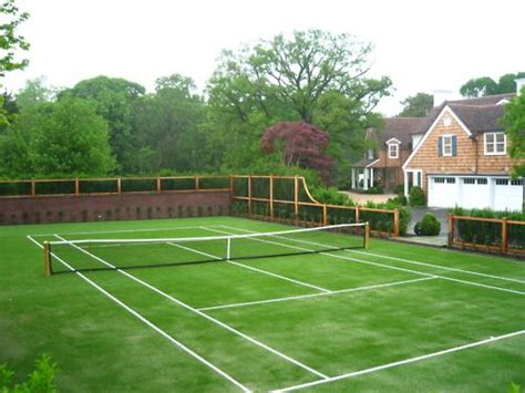 best 25 backyard tennis court ideas on