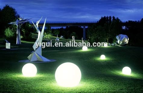 light up balls outdoors led light balls multi color changing balls outdoor plastic