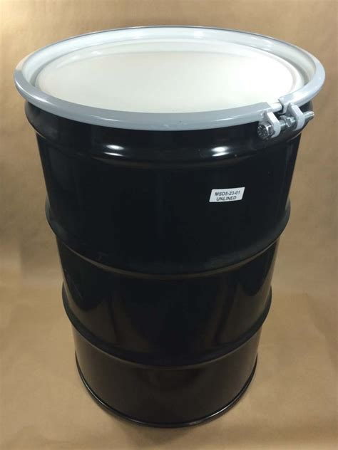 55 gallon drum 55 gallon steel drum with bolt ring yankee containers drums pails cans bottles jars jugs
