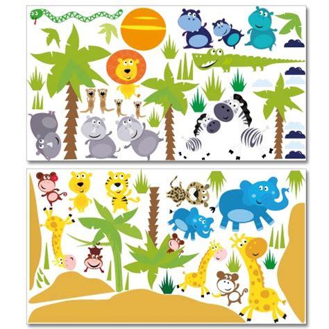 Wandtattoo Kinderzimmer Safari by Wandsticker Mega Set Safari