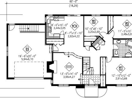 1300 square feet 1300 square foot 2 bedroom house plans square foot
