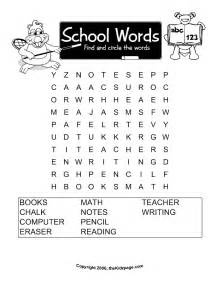 words word search free printable learning