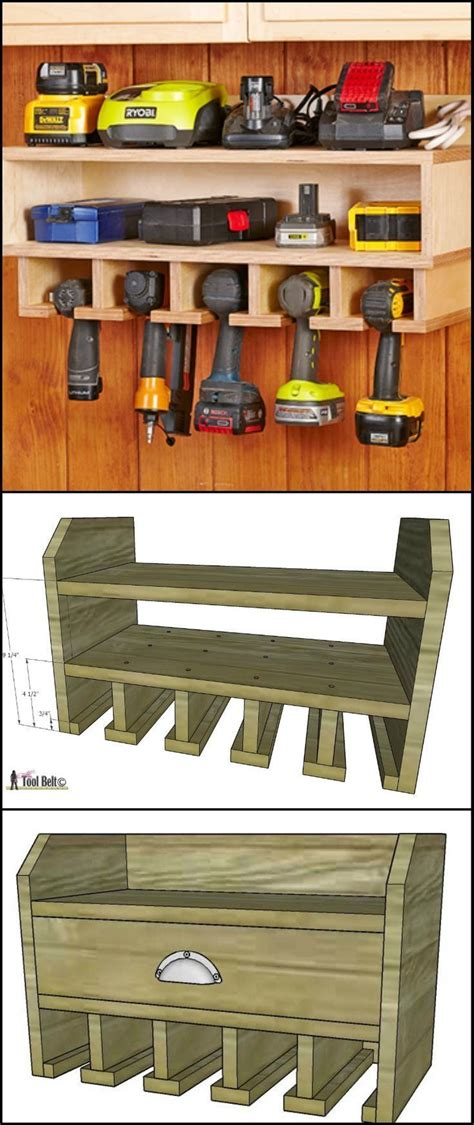 charging station plans for woodworking 1000 ideas about garage workshop on home