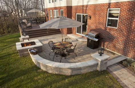 decks and patios designs enticing backyard paver ideas for your home exterior